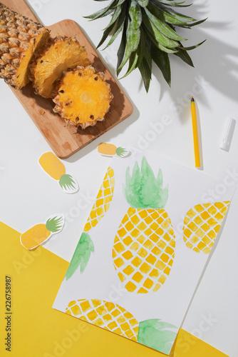 Foto Murales Pineapple.
