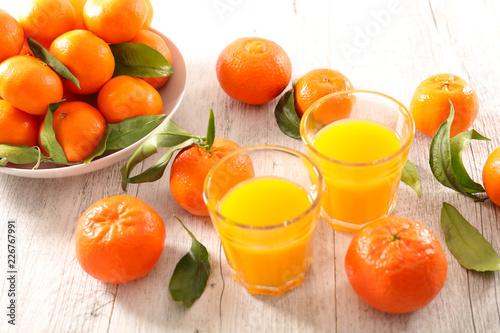 sok owocowy klementynowy
