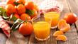 clementine fruit juice