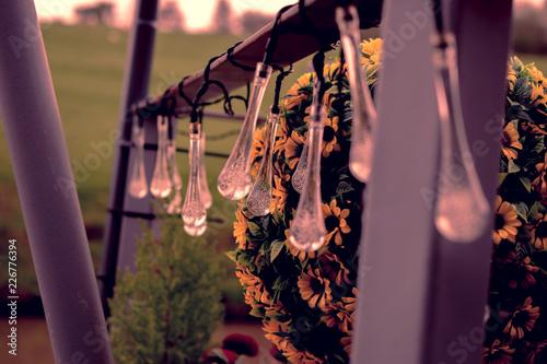 Foto Murales teardrop lights