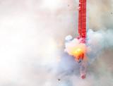 Fire Cracker on fire