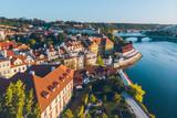 old european town on sunrise - 226835133