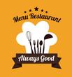 Restaurant design icom vector ilstration