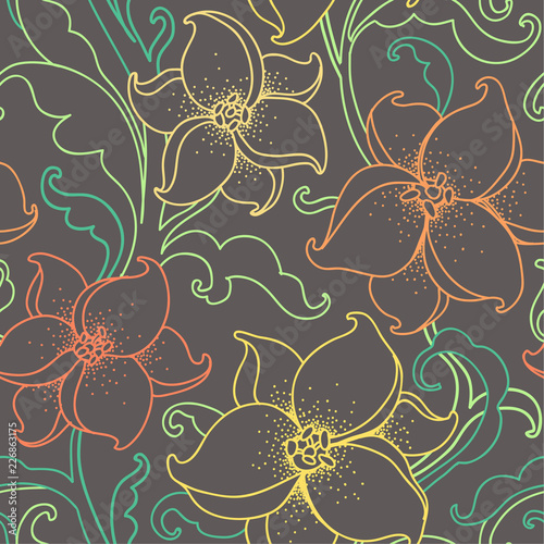 fantasy flowers - 226863175