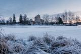 Savonlinna castle at the winter. Finland  - 226875782