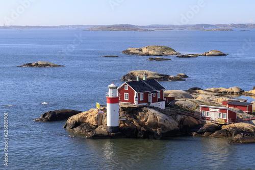 Leinwanddruck Bild Gothenburg Archipelago Sweden