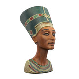 Bust of Queen Nefertiti Isolated