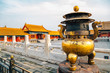 Forbidden City, Historic architecture in Beijing, China