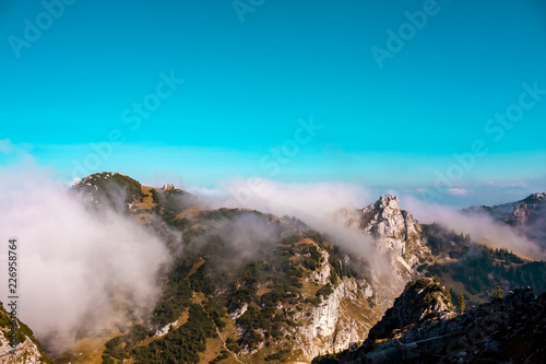 An autumn day in the mountains. - 226958764