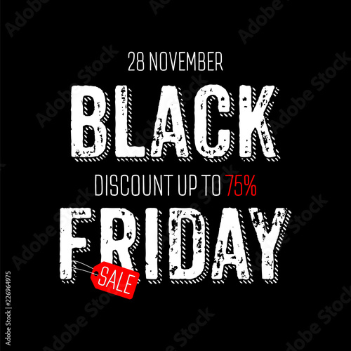 e103123f6de Black Friday sale. Banner with inscription scratched design template  background with rays from the center