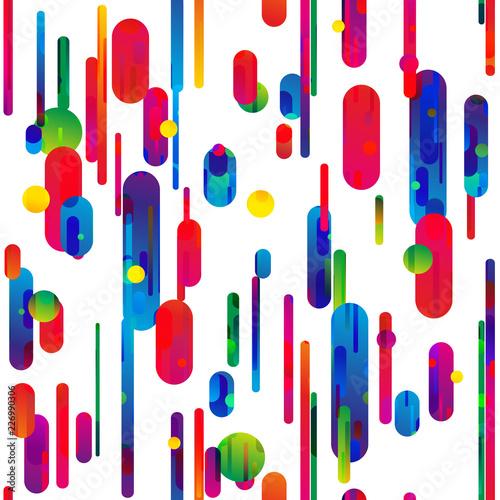 kolorowe linie bezszwowe tło wektor
