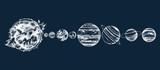 Solar system illustration - 226997151