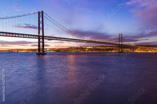 Lisbon and 25th of April Bridge - Portugal