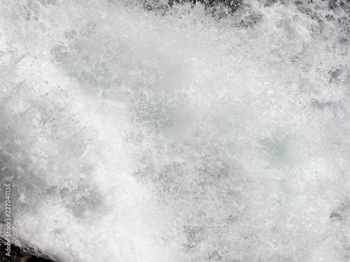 Leinwanddruck Bild meeresbrandung