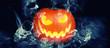 Leinwanddruck Bild - Halloween Motiv