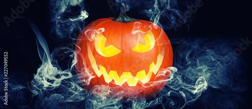 Leinwanddruck Bild Halloween Motiv