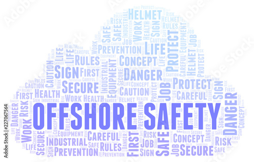 Offshore Safety word cloud    Buy Photos   AP Images   DetailView