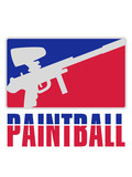 text logo waffe zielen paintball spaß sport verein schießen treffer ballern shooter farbball soldat kämpfer team design cool