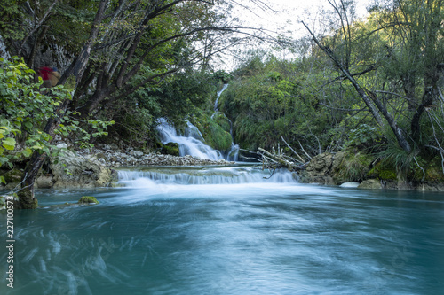 Plitvice lakes and Waterfalls - 227100573