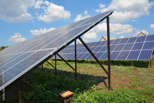 Backyard Solar Panels backyard solar panels for residential house energy efficiency.   buy