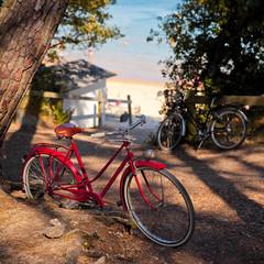 Vélo sur les plages de Noirmoutier en Vendée > France