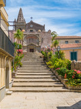Church of the Holy Trinity, in Forza d'Agrò, picturesque town in the Province of Messina, Sicily, southern Italy.