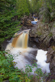 Waterfall with motion blur