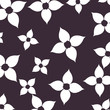 beautiful flowers decorative pattern isolated icon - 227199920