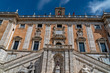 Quadro Campidoglio palace rome on sunny day