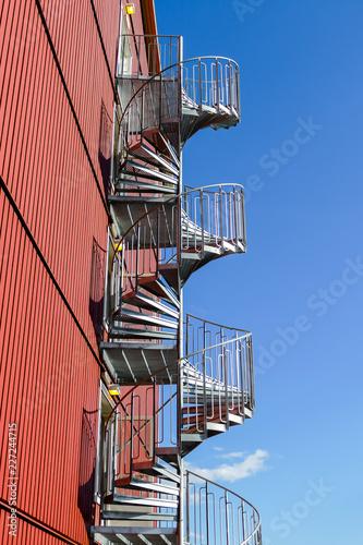 schody do nieba, w Szwecji Skandynawia Północna Europa