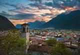 Storo al tramonto - Valle del Chiese Trentino