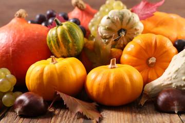 assorted variety of pumpkin