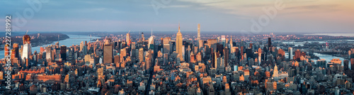 Manhattan Skyline Panorama, New York City, USA - 227281992
