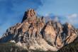 Quadro Dolomites rock massif