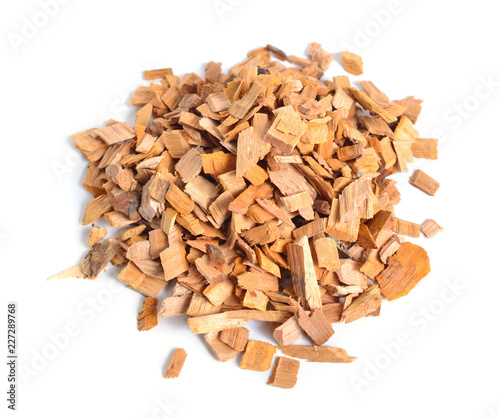 Alder Wood Chips Isolated On White Background Buy Photos Ap