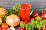 Домашняя аджика с яблоками,острая с перцем и чесноком  - 227295197