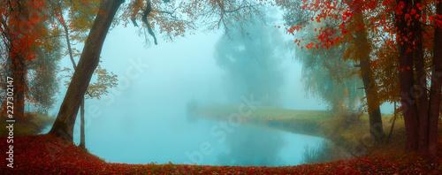 autumn background - 227302147
