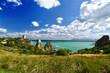 I faraglioni di Scopello in Sicilia, con il mare verde smeraldo. - 227308165