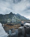 Wild norwegian nature