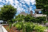 Manhattan Park mit One World Trade Center