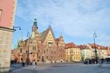Rynek i ratusz we Wrocławiu
