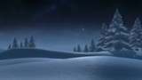 Winter forest animation with copy space - 227315939