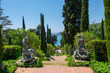Leinwandbild Motiv Santa Clotilde Gardens in Lloret de mar, Catalonia.