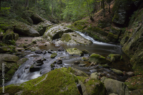 Stream in Bavarian Forest - 227322331