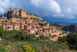 Alquezar, a beautiful medieval village in Huesca, Spain