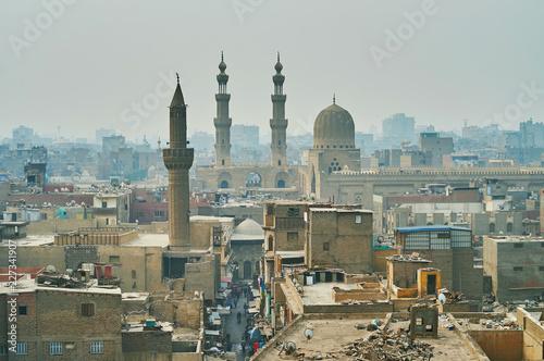 Bab Zuwayla Gate from the top, Cairo, Egypt