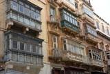 Balcons typiques à La valette (Malte) - 227346917