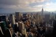 Manhattan view from Rockeffeler center - Top of the rock