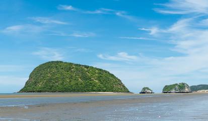 Ko Nom Sao at Sam Roi Yod Beach Prachuap Khiri Khan Thailand