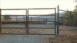 Empty corral in Andalusian countryside, Spain - 227393147